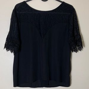 Charlotte Russe black knit top